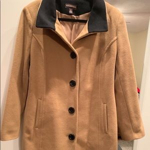 Wool/cashmere winter coat